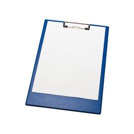 Papierklem Klembord A4/folio met 100mm klem blauw Papierklem 60223