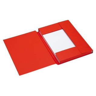 Jalema 25 x Dossiermap Jalema secolor 225gr A4 rood
