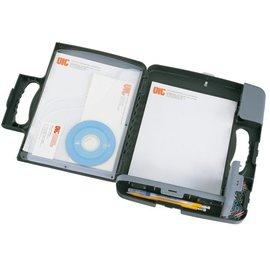 OIC Klembordkoffer OIC 53320 met A4 opbergruimte antraciet