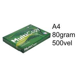 Multicopy Kopieerpapier Multicopy A4 80gr wit 500vel