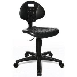 Topstar Topstar bureaustoel 72220 PUO ''Tec 20'' zonder voetring, met wieltjes zwart