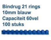 Bindruggen kunststof - 10 mm - 60 vel