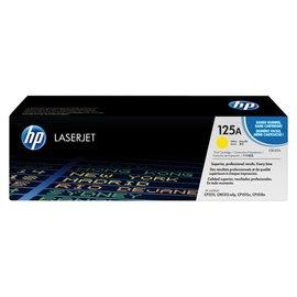HP Tonercartridge HP cb542a 125a geel