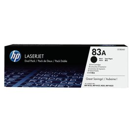 HP Tonercartridge HP cf283ad 83a zwart 2x