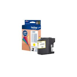 Brother Inkcartridge Brother lc-223y geel