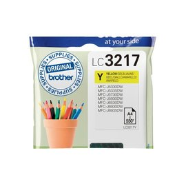 Brother Inkcartridge Brother lc-3217y geel