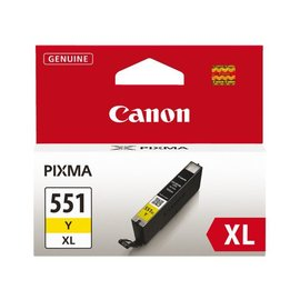 Canon Inkcartridge Canon cli-551xl geel hc