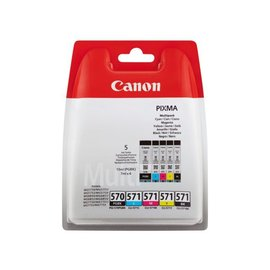 Canon Inkcartridge Canon pgi-570 + cli-571 2x zwart + 3 kleuren