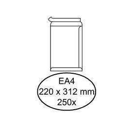 Hermes Envelop Hermes akte ea4 220x312mm zelfklevend wit 250stuks