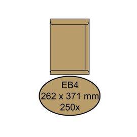 Quantore Envelop Quantore akte eb4 262x371mm bruinkraft 250stuks