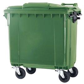 Vepa Bins Container 770 ltr vlak deksel VB 770900 groen
