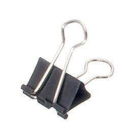 Maul Papierklem Maul 215 foldback 19mm capaciteit 7mm zwart