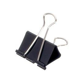 Maul Papierklem Maul 215 foldback 41mm capaciteit 19mm zwart