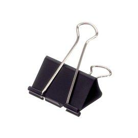 Maul Papierklem Maul 213 foldback 51mm capaciteit 28mm zwart