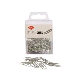 Papierklem LPC Paperclip lpc 30mm rond 100stuks zilver