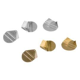 Quantore Hoekclip Quantore 100stuks zilver