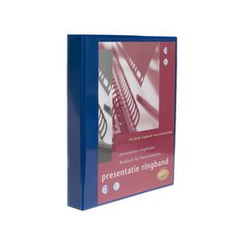 Multo Presentatie ringband Multo 23r A4 32mm blauw