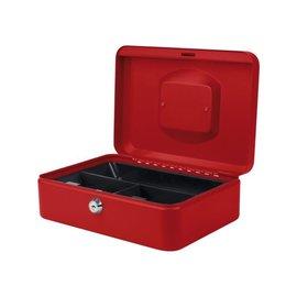 Pavo Geldkist Pavo 250x180x90mm rood