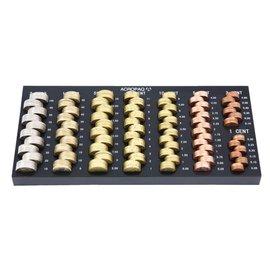 Acropaq Geldsorteerbak Acropaq euro 306x149x22mm zwart
