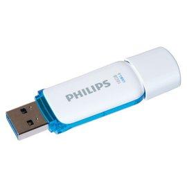 Philips Usb-stick 3.0 Philips snow 16gb blauw