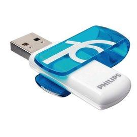 Philips USB-stick 2.0 Philips Vivid 16GB blauw