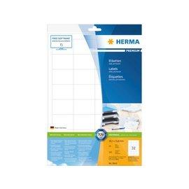 Herma Etiket Herma 8643 48.3x33.8mm premium wit 320stuks
