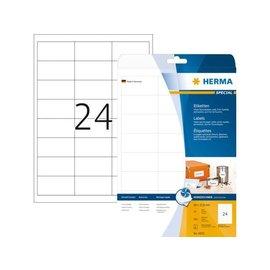 Herma Etiket Herma 4820 66x33.8mm wit 600stuks