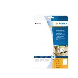 Herma Etiket Herma 10909 105x148mm A6 extra sterk wit 100stuks