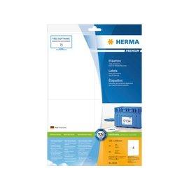 Herma Etiket Herma 8630 105x148mm premium wit 40stuks