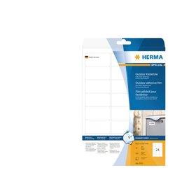 Herma Etiket Herma 9532 63.5x33.9mm polyester wit 240stuks