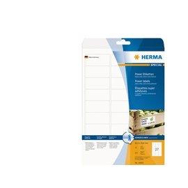 Herma Etiket Herma 10903 63.5x29.6mm extra sterk wit 675stuks