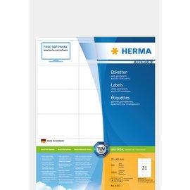 Herma Herma 4415 etiketten wit 70x42 premium A4 10500 st.