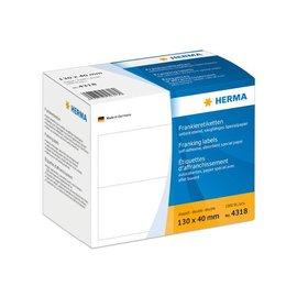 Herma Herma 4318 frankeer-etiketten dubbel 130x40  1000 st.