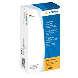 Herma Herma 4323 frankeer-etiketten enkel 157x40 500 st.
