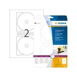Herma Etiket Herma 5115 cd 116mm wit 50stuks