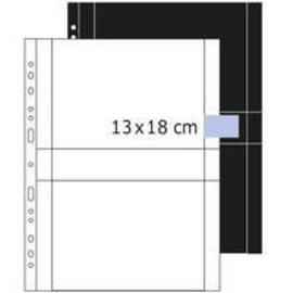 Herma Herma 7564 zichtmappen 13x18 cm liggend wit 250 hoesjes