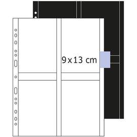 Herma Herma 7560 zichtmappen 9x13 cm staand wit 250 hoesjes