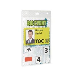 Durable Badge Durable 8525 voor evenementen A6 (zonder koord)
