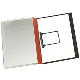 Jalema 10 x Rapportenmap Jalema clip A4 rood