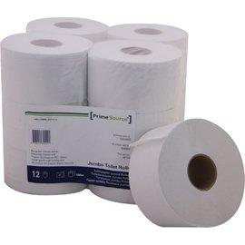 Primesource Toiletpapier PrimeSource Mini 2laags 180mx89mm wit 12rollen