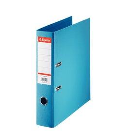 Esselte 10 x Esselte Plastic Ordner Basic A4 75 mm lichtblauw