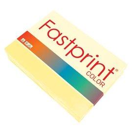 Fastprint Kopieerpapier Fastprint A4 80gr kanariegeel 500vel