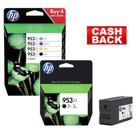 HP HP 953XL multipack & HP 953XL zwart