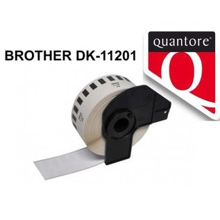 Quantore Brother DK-11204 labels 17x54 mm wit compatible