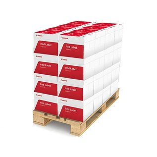 Canon Pallet kopieerpapier Canon Red Label Superior A4 80gr wit