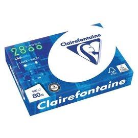 Clairefontaine Pallet kopieerpapier clairfontaine laser 2800 A4 80gr wit 500vel