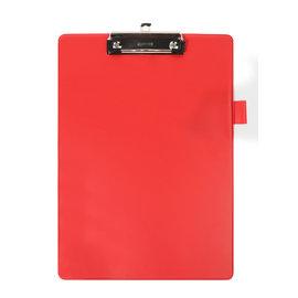 Quantore Klembord Quantore A4 rood met 100mm klem + penlus