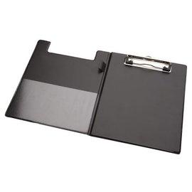 Papierklem Kassablokhouder A5 karton met klem +penlus zwart Papierklem 60315