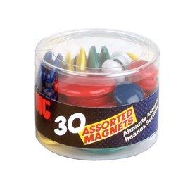 OIC Magneet OIC kleuren en maten assorti 92500