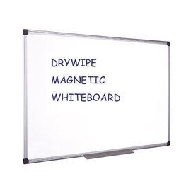Quantore Whiteboard Quantore 90x120cm magnetisch gelakt staal